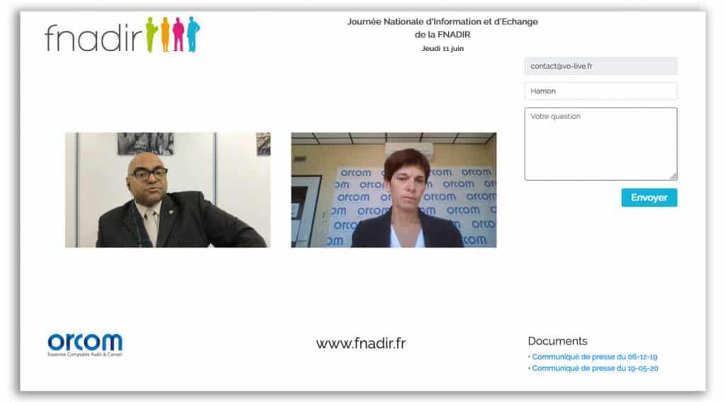 Web-conférence FNADIR